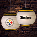 "Pittsburgh Steelers NFL 18"" Rice Paper Lamp"