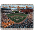 "Oriole Park at Camden Yards MLB ""Stadium"" 48"" x 60"" Tapestry Throw"