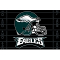 "Philadelphia Eagles NFL 39"" x 59"" Tufted Rug"
