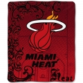 "Miami Heat NBA Micro Raschel Blanket 50"" x 60"""