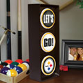 Pittsburgh Steelers NFL Stop Light Table Lamp