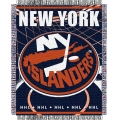 "New York Islanders NHL 48"" x 60"" Triple Woven Jacquard Throw"