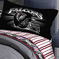 Atlanta Falcons Full Size Pinstripe Sheet Set