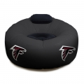 Atlanta Falcons NFL Vinyl Inflatable Chair w/ faux suede cushions
