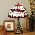 Detroit Redwings NHL Stained Glass Tiffany Table Lamp