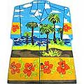 Hawaiian Shirt Tropical Theme Rug