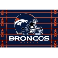 "Denver Broncos NFL 39"" x 59"" Tufted Rug"