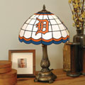 Detroit Tigers MLB Stained Glass Tiffany Table Lamp