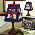 St. Louis Cardinals MLB Art Glass Table Lamp