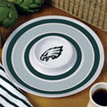 "Philadelphia Eagles NFL 14"" Round Melamine Chip and Dip Bowl"