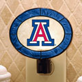 Arizona Wildcats NCAA College Art Glass Nightlight