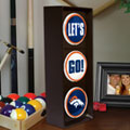 Denver Broncos NFL Stop Light Table Lamp