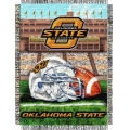 "Oklahoma State Cowboys NCAA College ""Home Field Advantage"" 48""x 60"" Tapestry Throw"