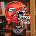Georgia UGA Bulldogs NCAA College Neon Helmet Table Lamp