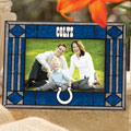 "Indianapolis Colts NFL 6.5"" x 9"" Horizontal Art-Glass Frame"