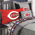 Cincinnati Reds Twin Size Sheets Set