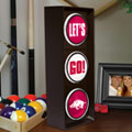 Arkansas Razorbacks NCAA College Stop Light Table Lamp