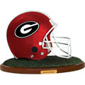 Georgia UGA Bulldogs NCAA College Helmet Replica Figurine