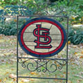 St. Louis Cardinals MLB Stained Glass Outdoor Yard Sign