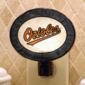 Baltimore Orioles MLB Art Glass Nightlight
