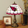 Arizona Cardinals NFL Stained Glass Tiffany Table Lamp