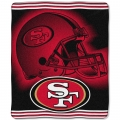 "San Francisco 49ers NFL ""Tonal"" 50"" x 60"" Super Plush Throw"