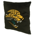 "Jacksonville Jaguars NFL 16"" Embroidered Plush Pillow with Applique"