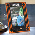 "Philadelphia Flyers NHL 9"" x 6.5"" Vertical Art-Glass Frame"
