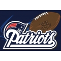 "New England Patriots NFL 20"" x 30"" Tufted Rug"