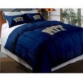 "Pittsburgh Panthers College Twin Chenille Embroidered Comforter Set with 2 Shams 64"" x 86"""