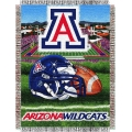 "Arizona Wildcats NCAA College ""Home Field Advantage"" 48""x 60"" Tapestry Throw"