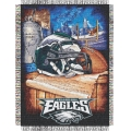"Philadelphia Eagles NFL ""Home Field Advantage"" 48"" x 60"" Tapestry Throw"