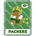 "Green Bay Packers NFL Baby 36"" x 46"" Triple Woven Jacquard Throw"