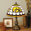 Iowa Hawkeyes NCAA College Stained Glass Tiffany Table Lamp