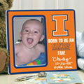 Illinois Illini NCAA College Ceramic Picture Frame