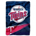"Minnesota Twins MLB ""Speed"" 60"" x 80"" Super Plush Throw"