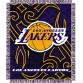 "Los Angeles Lakers NBA 48"" x 60"" Triple Woven Jacquard Throw"