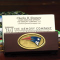 New England Patriots NFL Business Card Holder