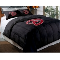 "Arizona Diamondbacks MLB Twin Chenille Embroidered Comforter Set with 2 Shams 64"" x 86"""