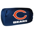 "Chicago Bears NFL 14"" x 8"" Beaded Spandex Bolster Pillow"