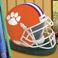 Clemson Tigers NCAA College Helmet Bank