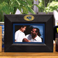 "St. Louis Rams NFL 8"" x 10"" Black Horizontal Picture Frame"