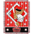"Cincinnati Reds MLB Baby 36""x 46"" Triple Woven Jacquard Throw"