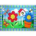 "Happy Flowers Rug (39"" x 58"")"