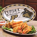 "Purdue Boilermakers NCAA College 12"" Ceramic Oval Platter"