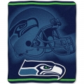 "Seattle Seahawks NFL ""Tonal"" 50"" x 60"" Super Plush Throw"