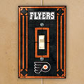 Philadelphia Flyers NHL Art Glass Single Light Switch Plate Cover