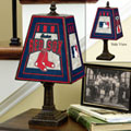 Boston Red Sox MLB Art Glass Table Lamp