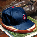 Minnesota Twins MLB Baseball Cap Figurine