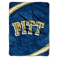 "Pittsburgh Panthers College ""Force"" 60"" x 80"" Super Plush Throw"